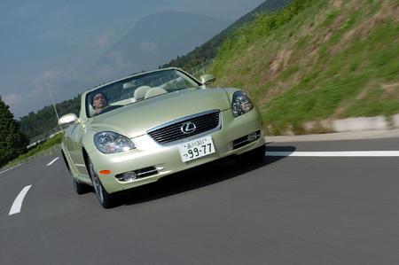 レクサスSC430(FR/6AT)/GS350(FR/6AT)/GS430(FR/6AT)【試乗速報(前編)】
