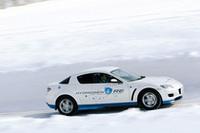 寒冷地を走る水素ロータリー「RX-8」