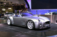 【デトロイトショー2004】フォードの歴史引用的コンセプトカー「シェルビーコブラ」の画像