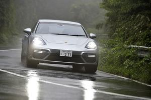 ポルシェ・パナメーラ ターボ(4WD/8AT)【試乗記】