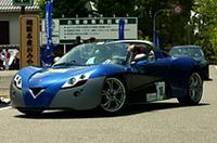 こちらは変り種(!?)、ベンチュリーの電気自動車。0-100km/h加速4.5秒とか!!