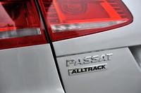 路面を選ばない「パサートオールトラック」は、同時に「パサート」シリーズの最上位モデルでもある。
