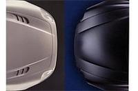 写真左が「3200GT」、右が「クーペ」のボンネット。