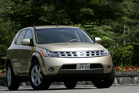日産ムラーノSE AWD北米仕様(CVT)【試乗記】