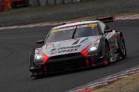 No.46 S Road CRAFTSPORTS GT-R。ベテランの本山 哲と、ルーキーの千代勝正のコンビで、3位の座を獲得した。