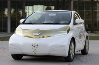 「iQ」が電気自動車に変身!? トヨタが「FT-EV」を出展【デトロイトショー09】の画像