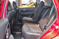 「20X」の2列シート車では、後席の調整機能が大幅に強化された。