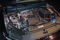 1.4リッターTSIエンジン。JC08モード燃費は20.4km/リッター。