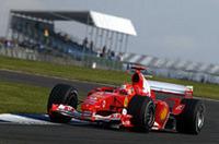 F1第11戦イギリスGP、シューマッハー通算80勝目をマークの画像