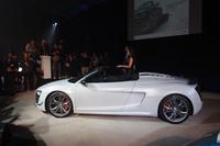 560psの「アウディR8 GTスパイダー」発売の画像