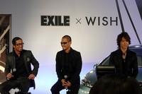 リーダーのHIROさんは、「僕達も夢を持つことの大切さを伝える活動をしているので、ウィッシュと一緒にこのプロジェクトを盛り上げたい」と語った。