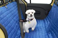 車載用ペット用品で有名なクルゴのハンモック。シートを汚れから守る。
