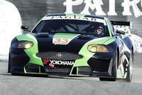 2010年のルマン24時間耐久レースに参戦するジャガーのワークスマシン「XKR GT2」。