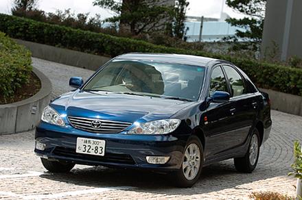 トヨタ・カムリ2.4Gリミテッドエディション・ナビパッケージ(4AT)【ブリーフテスト】