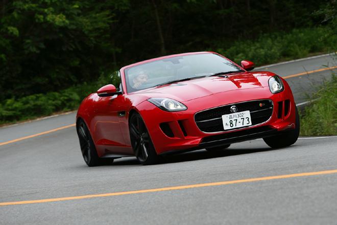 ジャガーFタイプ V8 S(FR/8AT)【試乗記】