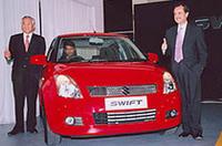 スズキ、インドで「スイフト」の生産・販売を開始の画像