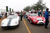 8月中旬。珠玉のクラシックカーが並んだ「ペブルビーチ・コンクール・デレガンス」から。