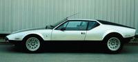 チャーダの名刺代わりとなった代表作「デ・トマソ・パンテーラ」。写真は1972年の「GTS」グレード。