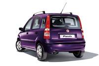 フィアット・パンダに紫色の限定車の画像