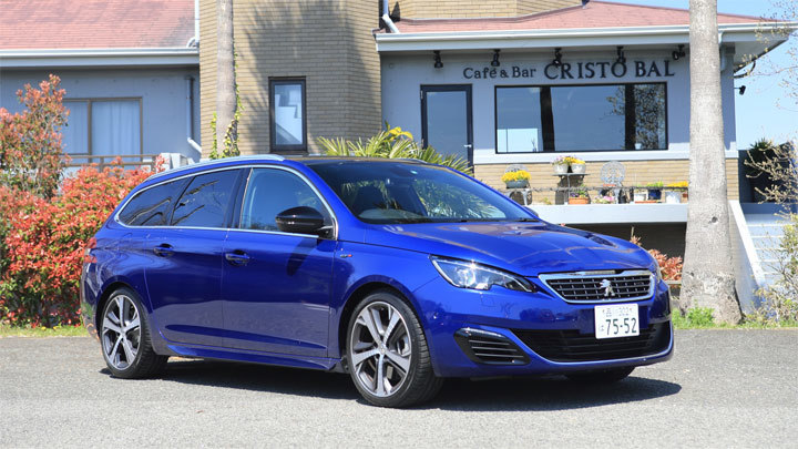 プジョー308SW GT BlueHDi(FF/6AT)【試乗記】
