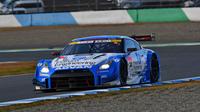 シーズン第3戦を制した、佐々木大樹/柳田真孝組のNo.24 フォーラムエンジニアリング ADVAN GT-R。