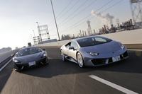 CGの真骨頂ともいえる比較テストには、高性能ミドシップスポーツカー2台が登場。直接比較の記事をお届けできるのは、CG本誌だけです。(photo:北畠主税)