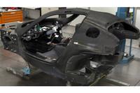 シートはF1と同様に、ドライバーの体格を採寸して製造される。