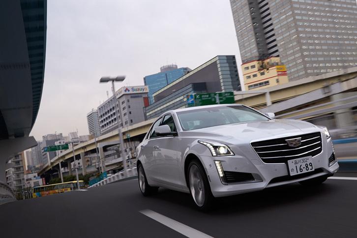 キャデラックCTSセダン プレミアム(4WD/8AT)【試乗記】