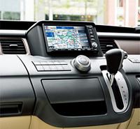 HDDナビ付き「ホンダ・ステップワゴン」特別仕様車の画像