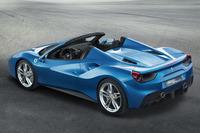 フェラーリ、488スパイダーの概要を発表【フランクフルトショー2015】の画像