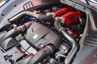 「ターボラグをほぼゼロにした」とうたわれる、3.9リッターV8ターボエンジン。