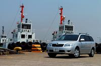トヨタ・カローラフィールダーS(5MT)【ブリーフテスト】の画像