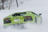 """第230回:700psの猛牛は雪にも強いランボルギーニの""""Winter Driving Experience in Hokkaido""""に参加しての画像"""