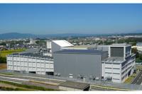 本社テクニカルセンター内に竣工した風洞実験棟。