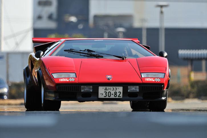 """第1回:ランボルギーニ・カウンタックLP500S""""ウルフ・カウンタック"""""""