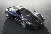 フェラーリは「ラ フェラーリ」のオープントップ仕様を今秋発表する。