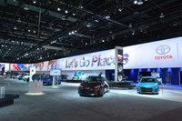 例年は「アメリカのメーカーが主役!」というイメージの強い北米国際自動車ショーですが、今年はすっかり、日・独メーカーが会場の話題をさらっていました。(写真=鈴木ケンイチ)