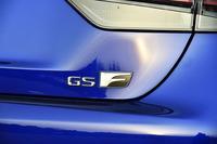 2015年11月に発売された「GS F」。「F」レターを掲げるレクサスのセダンとしては、「IS F」(2007年発売)以来8年ぶりの登場となる。車両価格は1100万円。