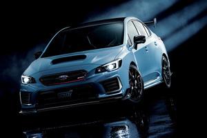 スバル、STIと共同開発した高性能スポーツモデル「S208」を発表