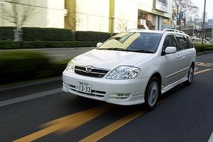 トヨタ・カローラフィールダー Z エアロツアラー(6MT)【ブリーフテスト】