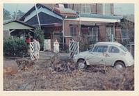 1969年、女房の七五三の日。