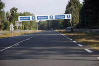 24時間レースのときの広告が残っている。