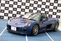 GLM最初の製品である電動スポーツカーの「トミーカイラZZ」。