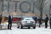 BMWが「MINI E」の引き渡し式を開催の画像