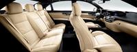 「S550ブルーエフィシェンシー ロング グランドエディション」のインテリア。