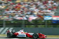 F1スペインGP、シューマッハー優勝【F1 03】の画像