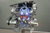 「VQ37VHR」エンジンのカットモデル