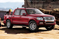 「フォード・エクスプローラースポーツトラック」