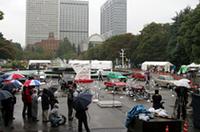 【東京モーターショー2005プレビュー】生誕の地で前日祭、「東京モーターショー50周年記念特別展示プレスレビューin日比谷公園」の画像