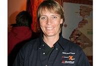 女性で唯一ダカールで総合優勝しているユタ・クラインシュミット。